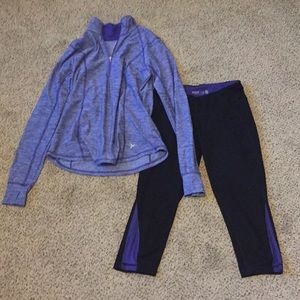 Old navy active matching set